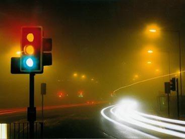 В Баку светофор запутал водителей