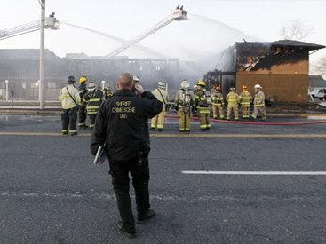 Отель в Нью-Джерси сгорел вместе с постояльцами - ОБНОВЛЕНО