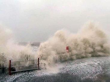 На Европу обрушился самый мощный за 30 лет шторм - ФОТО