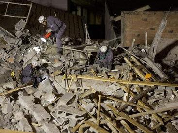 В Бразилии обрушился пятиэтажный дом - ФОТО