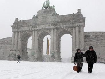 Погода в Бельгии установила вековой рекорд холода