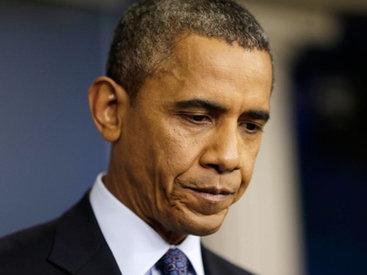 Обама убит горем