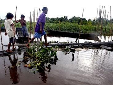 Проливные дожди затопили Малайзию