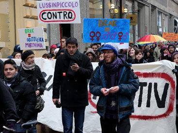 Референдум в Хорватии определит судьбу однополых браков