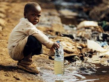 1,4 тыс. детей умирают ежедневно из-за отсутствия воды