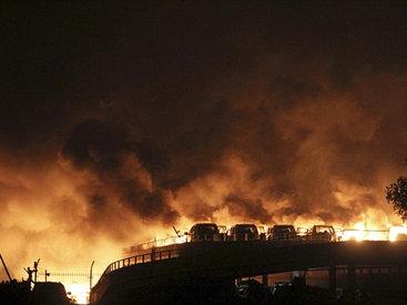 Мощный взрыв в Китае, есть погибшие, 500 раненых - ОБНОВЛЕНО - ФОТО - ВИДЕО