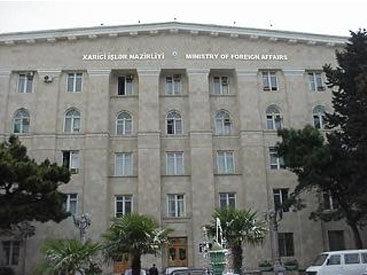 МИД Азербайджана назвал абсурдными заявления Саргсяна