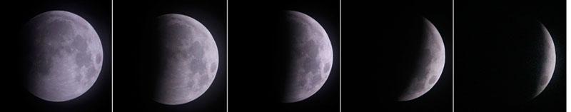 Самое необычное лунное затмение за последние несколько сот лет – ФОТОСЕССИЯ