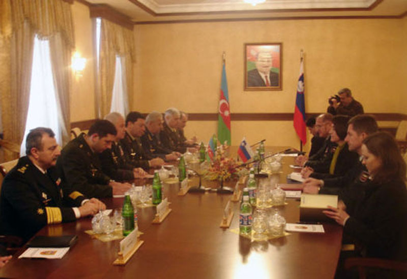 Азербайджан и Словения подписали соглашение о военном сотрудничестве - ФОТО