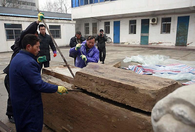 В Китае найдена мумия возрастом не менее 500 лет - ФОТО