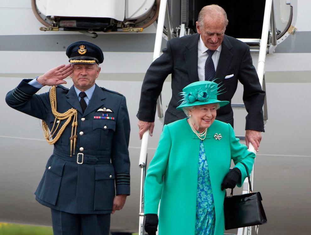 Исторический визит британской королевы Елизаветы II - ФОТОСЕССИЯ