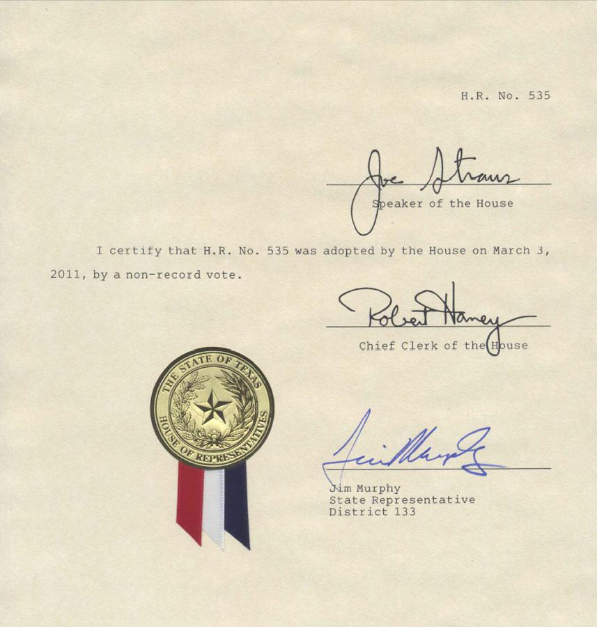 В Техасе принята резолюция о Ходжалинской трагедии - ОБНОВЛЕНО - ФОТО