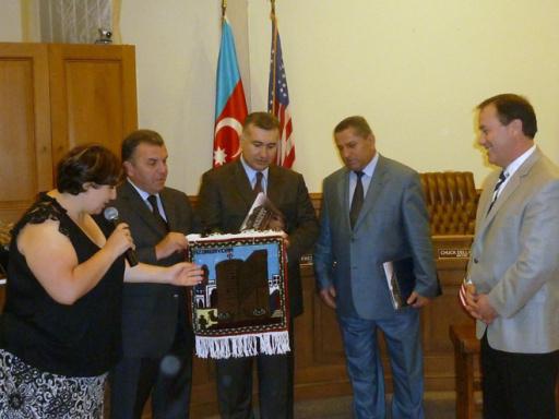 Города США и Азербайджана стали побратимами - ФОТО
