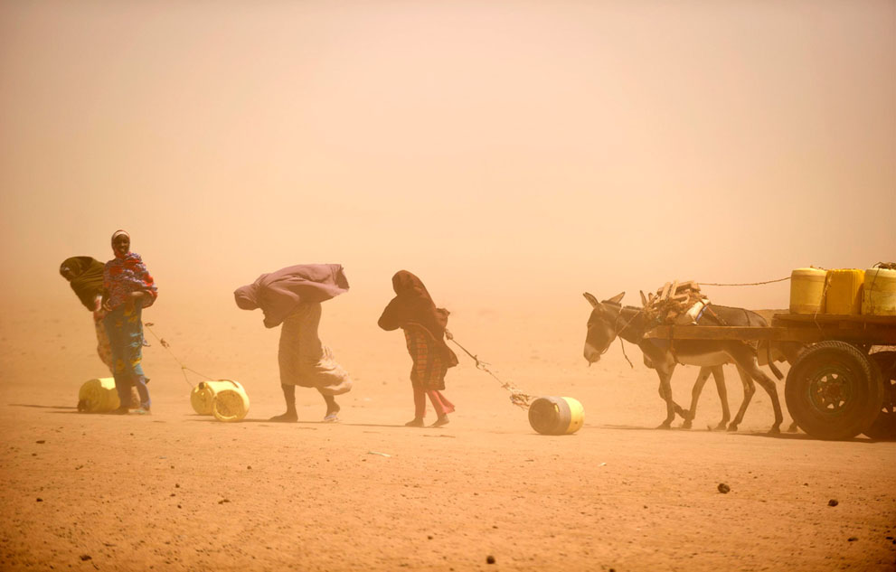 east african drought 2011