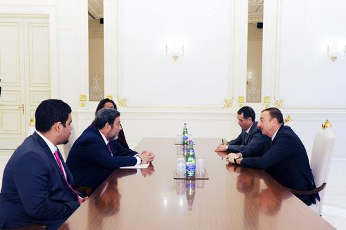 Президент Азербайджана принял премьер-министра Сент-Винсента и Гренадин - ФОТО