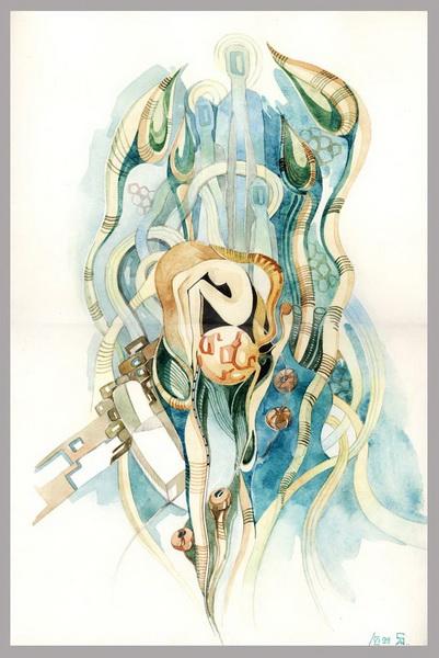 """""""Картинная галерея Day.Az"""": Удивительные картины карандашом - ФОТО"""