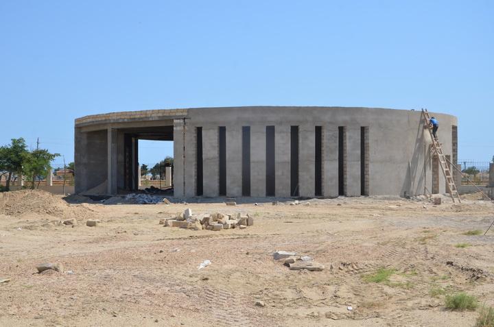 Новый крупный парк в Пираллахи - ФОТО