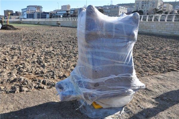 Когда откроется спортплощадка на бакинском бульваре? - ФОТО