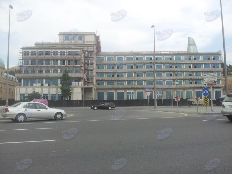 В Баку возрождается легендарная гостиница - ФОТО