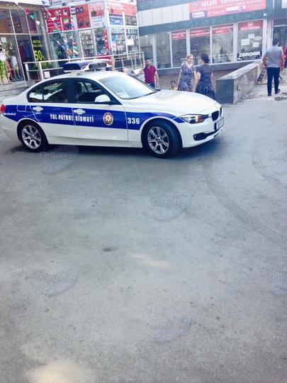 Автомобиль ДПС припарковался в неудобном месте – ФОТО