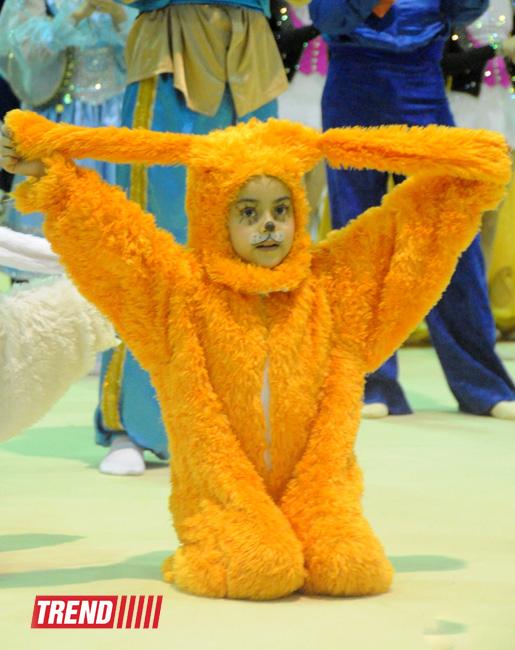 """Великолепный праздник гимнастики: в Баку рассказали """"Самую красивую сказку Шахерезады"""" - РЕПОРТАЖ - ФОТО"""