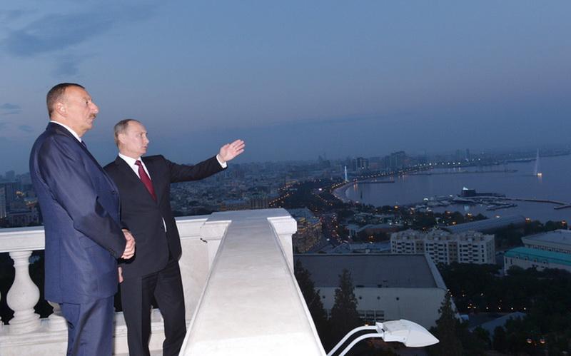 """Президент Ильхам Алиев: """"Визит Президента России в Азербайджан сам по себе является знаковым событием"""" - ОБНОВЛЕНО - ФОТО"""
