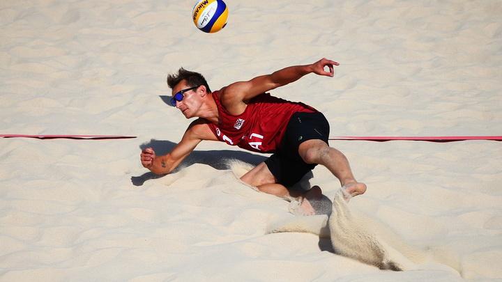 Евроигры: мужские команды разыграли медали по пляжному волейболу - ОБНОВЛЕНО - ФОТО