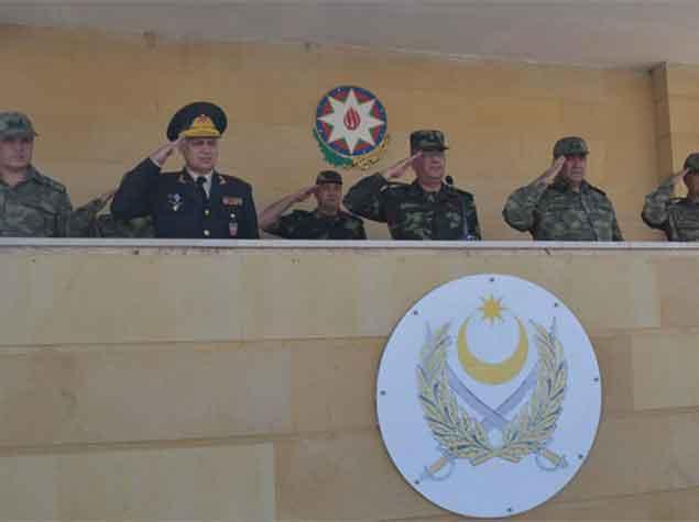 Азербайджан и Турция начали военные учения – ФОТО