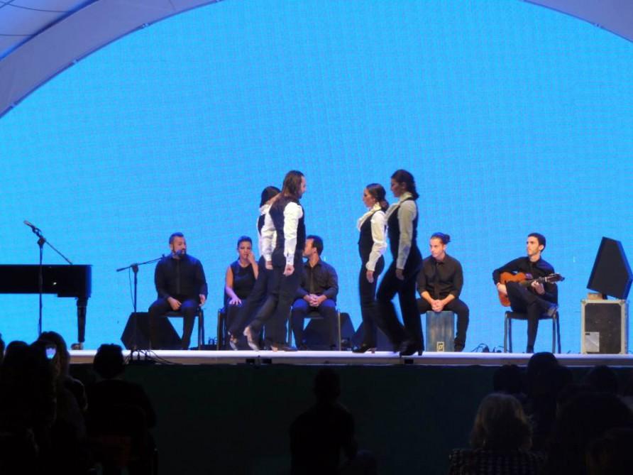 """В Габале состоялся грандиозный концерт испанского ансамбля """"Барселона и Фламенко"""""""
