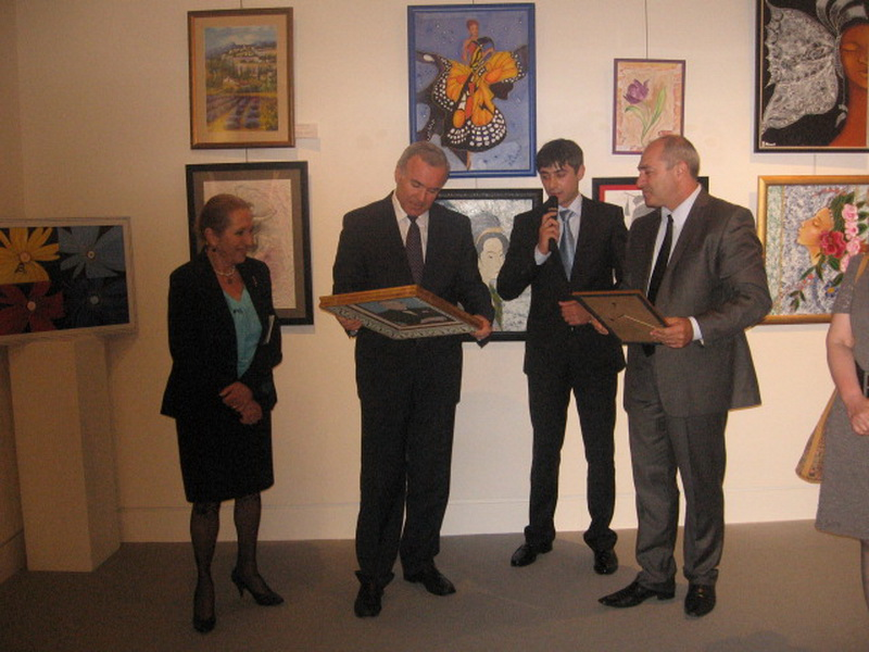 В Риме проходит выставка молодых азербайджанских художников – ОБНОВЛЕНО - ФОТО