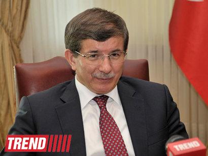 Ахмед Давутоглу: Проблемы Турции с Арменией связаны с оккупацией азербайджанских земель – ИНТЕРВЬЮ - ФОТО