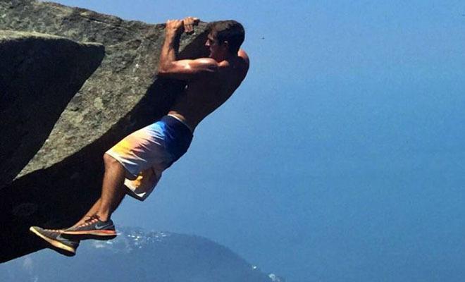 Пара из Бразилии делает экстремальные селфи - ФОТО