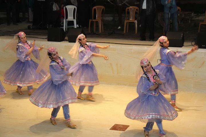 Грандиозный вечер азербайджанского искусства в Байбурте - ФОТО