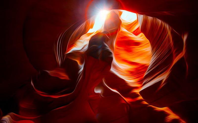 Удивительная красота каньона Антилопы - ФОТОСЕССИЯ