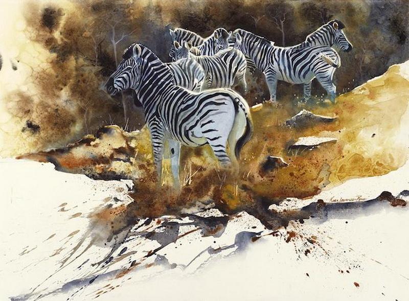 """""""Картинная галерея Day.Az"""": Мир африканской природы в картинах - ФОТО"""