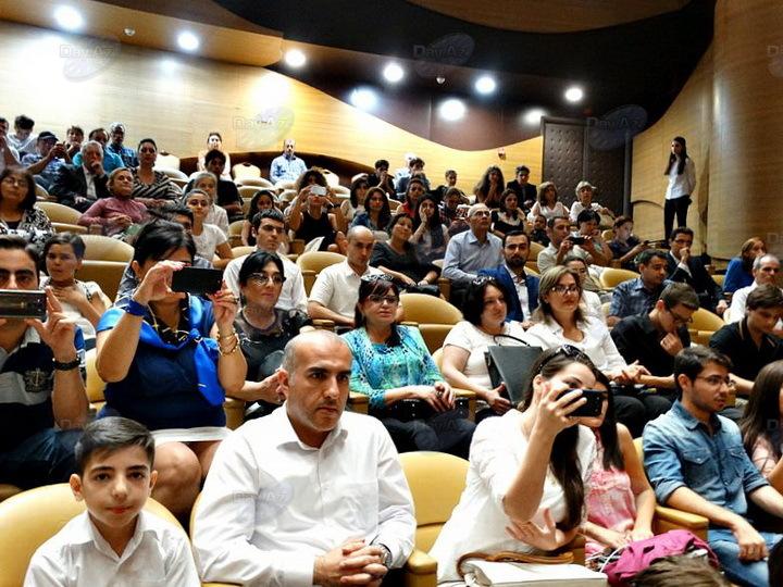 Международный центр мугама ярко отметил 130-летие Узеира Гаджибейли - РЕПОРТАЖ - ФОТО