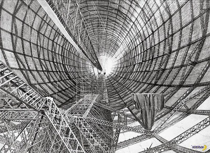 Дирижабли: венец инженерной мысли своего времени - ФОТОСЕССИЯ