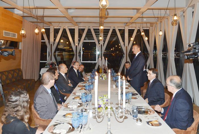 """Президент Ильхам Алиев: """"Отношения между Азербайджаном и Италией основаны на взаимной поддержке, взаимопонимании и уважении"""" - ОБНОВЛЕНО - ФОТО"""