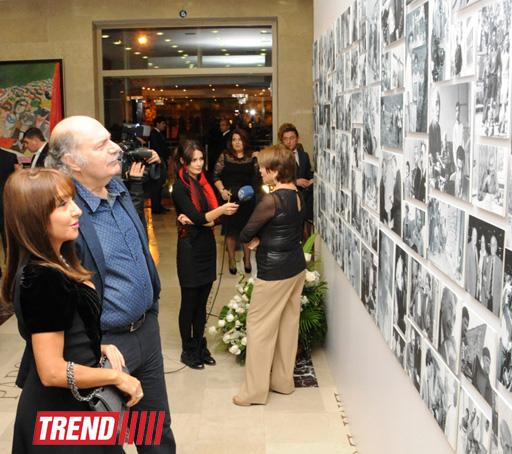 На Творческой сцене ÜNS состоялся вечер памяти, посвященный 80-летнему юбилею мэтра азербайджанского кино Расима Оджагова - ФОТО