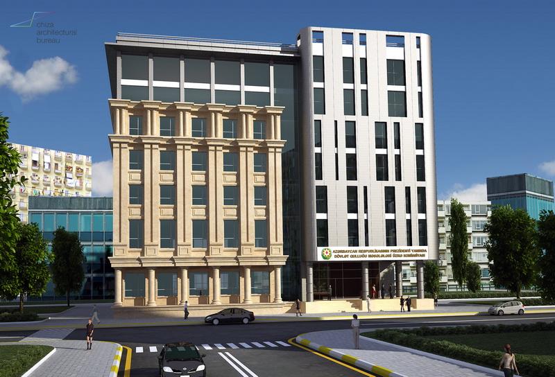 """""""Chiza Architectural Bureau"""" yeni inzibati binanın layihə işlərini aparıb - FOTO"""