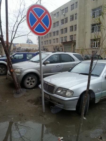 Водители проигнорировали дорожный знак - МОБИЛЬНЫЙ РЕПОРТЕР - ФОТО