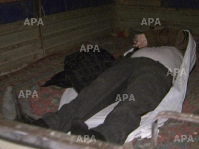 В Бинагадинском районе нашли труп мужчины - ФОТО