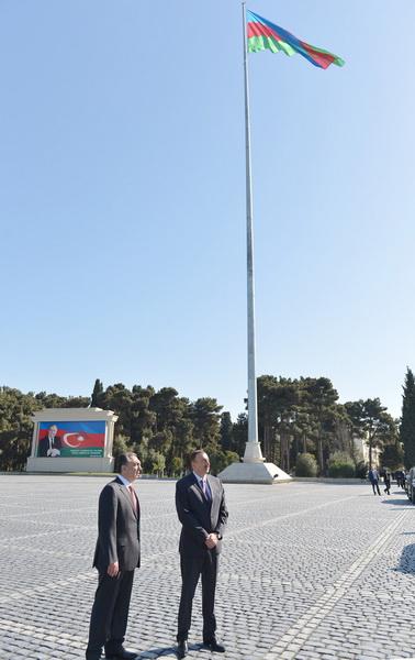 """Президент Ильхам Алиев: """"В Азербайджане создаются прекрасные предприятия, чтобы наши граждане были обеспечены работой"""" - ОБНОВЛЕНО - ФОТО"""