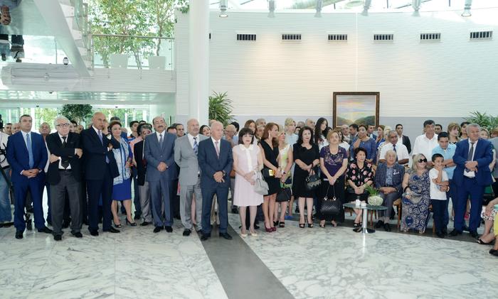 Состоялось мероприятие, посвященное 80-летнему юбилею заслуженного архитектора Расима Алиева - ОБНОВЛЕНО - ФОТО