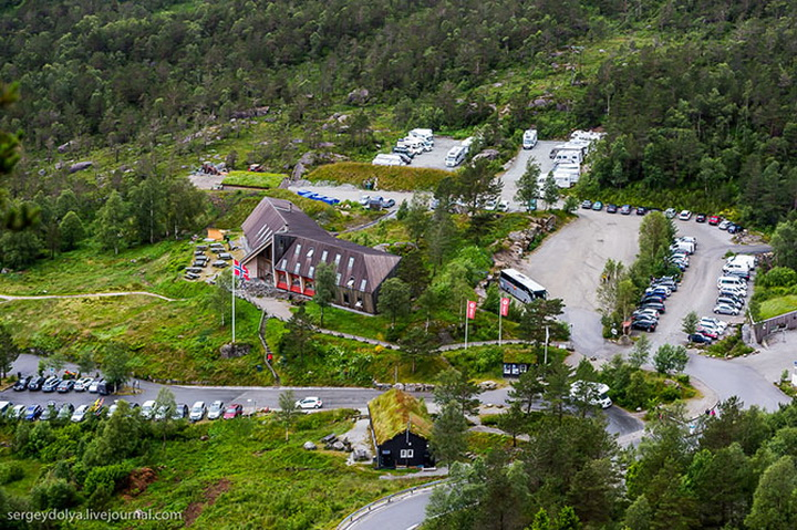 Восхождение на самую красивую гору Норвегии - ФОТОСЕССИЯ