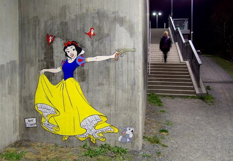 """""""Картинная галерея Day.Az"""": Милые принцессы с опасными лицами - ФОТО"""