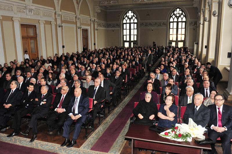 Прошло мероприятие, посвященное памяти известного ученого-геолога Али Амирасланова - ФОТО
