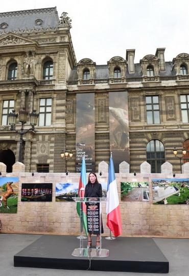 """Первая леди Мехрибан Алиева: """"Азербайджан и Франция наладили успешное сотрудничество во всех сферах"""" - ОБНОВЛЕНО - ФОТО"""