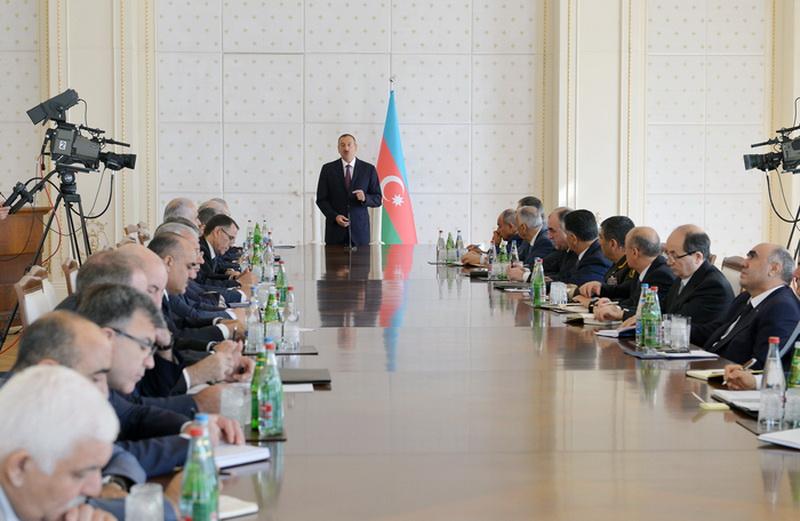 """Президент Ильхам Алиев: """"Макроэкономическая стабильность – это основной вопрос нашего экономического развития"""" - ОБНОВЛЕНО - ФОТО"""