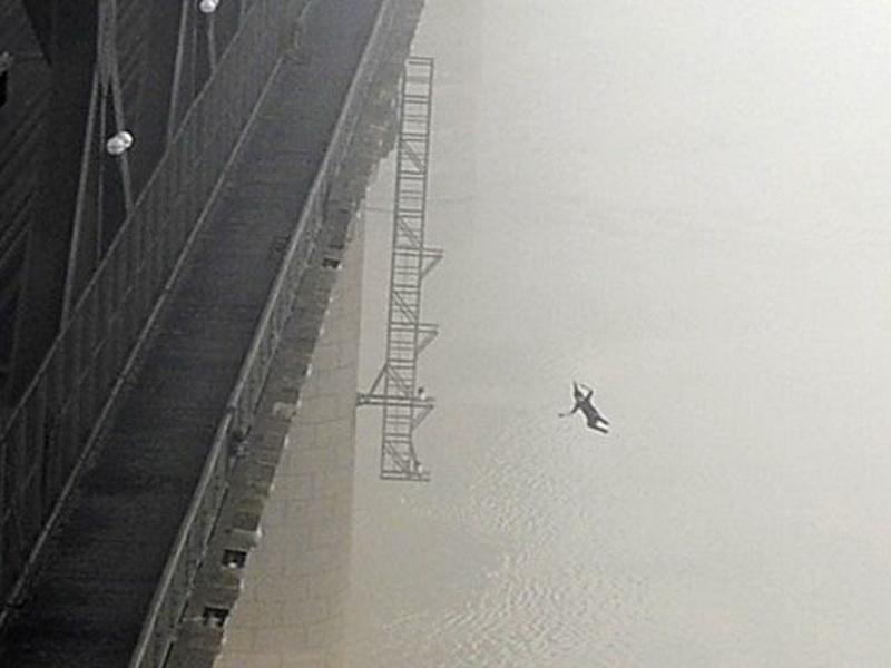картинки спрыгнуть с моста только сделать